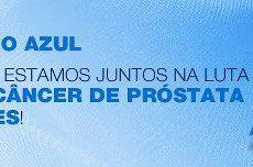 Campanha Novembro Azul de Combate ao Câncer de Próstata.